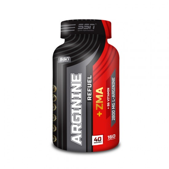 SSN® Arginine Refuel + ZMA 160 Kapsül