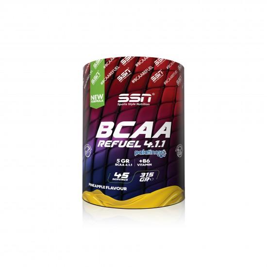 SSN BCAA 4.1.1 + Palatinose™ Pineapple Coctail 315 Gr