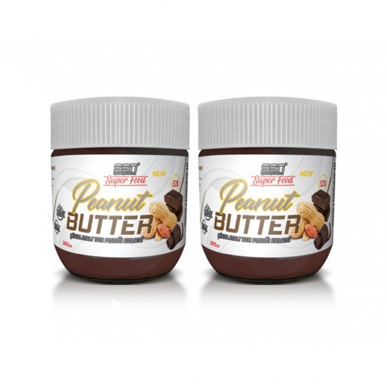 SSN Super Food Peanut Butter Çikolatalı Yer Fıstığı Ezmesi 320 Gr 2'Li Paket