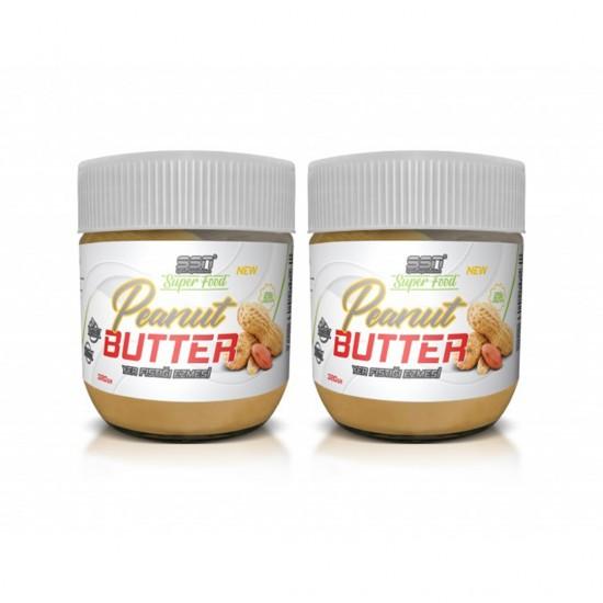 SSN Super Food Peanut Butter Yer Fıstığı Ezmesi 320 Gr 2'Li