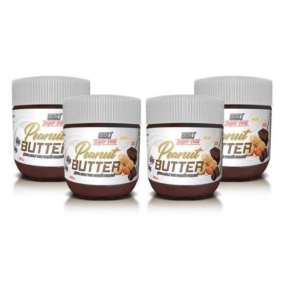 SSN Super Food Peanut Butter Çikolatalı Yer Fıstığı Ezmesi 4'lü Paket