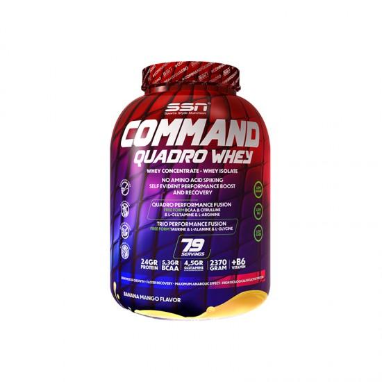 SSN Command Quadro Whey Protein 2370 Gr. Muz & Mango