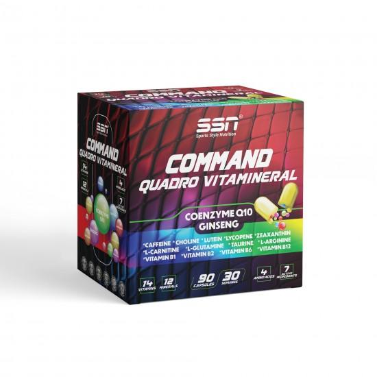 SSN Command Quadro Vitamineral 90 Kapsül